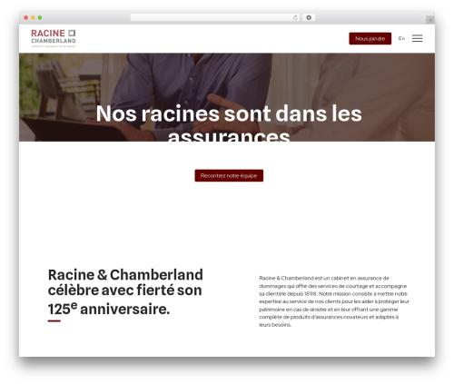 WordPress sitepress-multilingual-cms plugin - racinechamberland.com