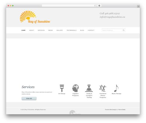 Chalong template WordPress - rayofsunshine.ca