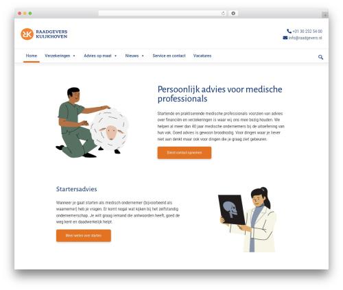 WordPress megamenu-pro plugin - raadgevers.nl
