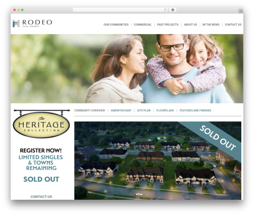 Free WordPress Responsive Menu plugin - rodeofinehomes.com/community/the-heritage-collection