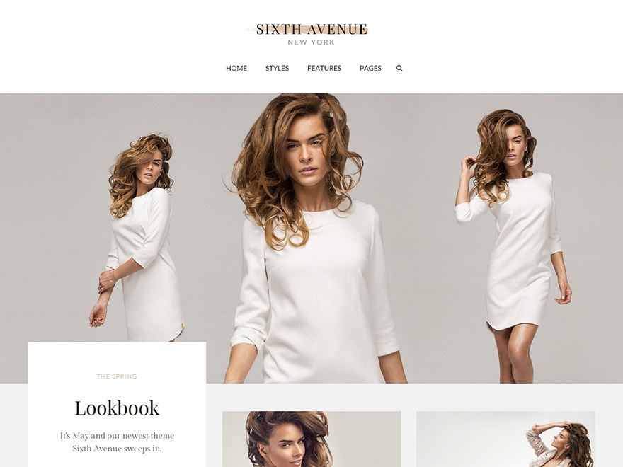 Sixth Avenue top WordPress theme
