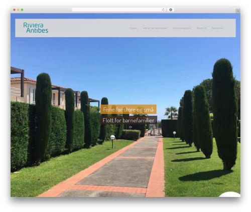 WordPress template Vierra - riviera-antibes.com