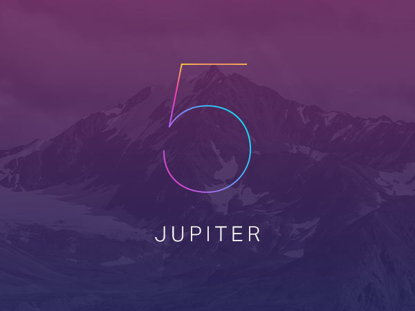 jupiter WP template