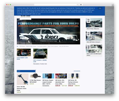 Propulsion WordPress theme - retroturbo.com