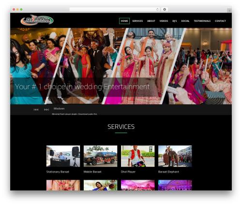Theme WordPress Sonorama - rangentertainment.com
