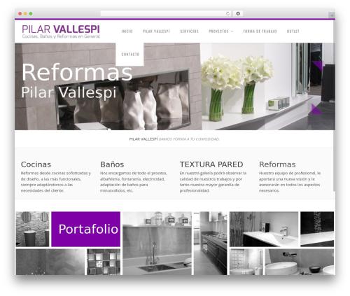 Best WordPress theme Senna - reformaspilarvallespi.com