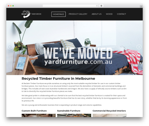 Focal WP theme - reclaimtimberfurniture.com.au
