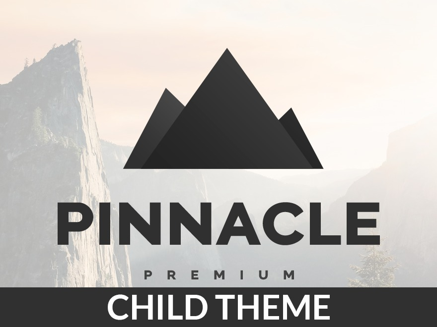 Pinnacle Child Theme WordPress theme