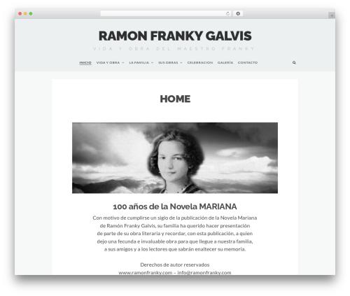 tdMinimal WordPress template - ramonfranky.com