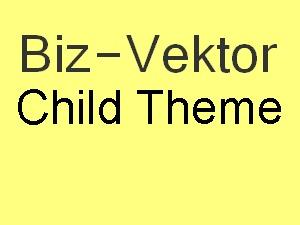Theme WordPress ★BizVektor子テーマ★