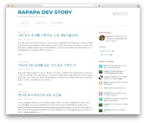WordPress theme Themify Basic - rapapa.net