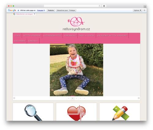 Best WordPress template Natural - rettuvsyndrom.eu
