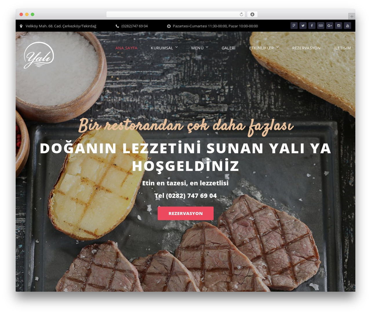 Bettaso Wordpress Restaurant Theme By Template Monster Yalirest
