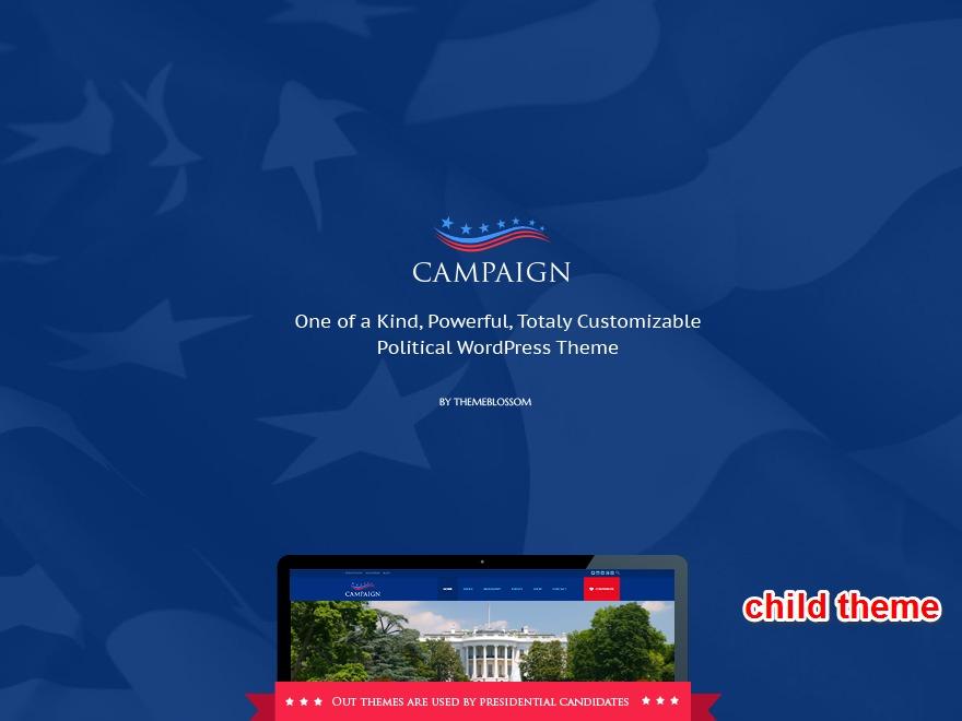 Campaign Child theme WordPress