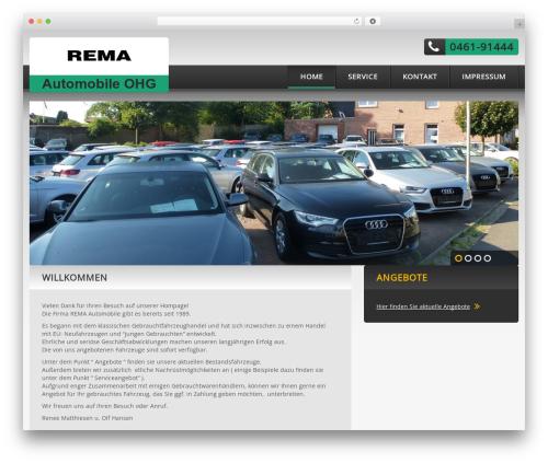 cherry WordPress website template - rema-automobile.de