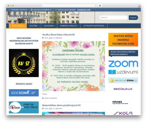 Education Hub WordPress theme free download - rojasvidusskola.lv