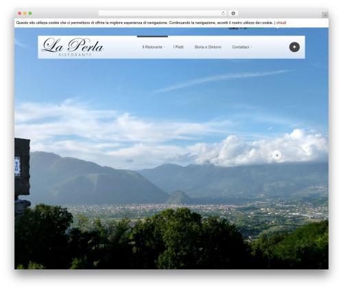 Ideas Fullscreen for WordPress (Share on Theme123.Net) WP template - ristorante-laperla.it