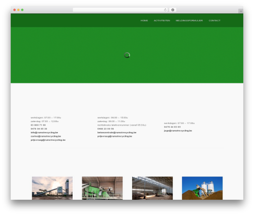 Persuasion top WordPress theme - rumstrecycling.be