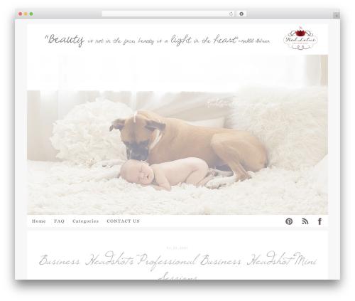 ProPhoto premium WordPress theme - redlotusphotography.info