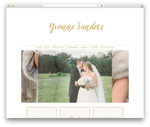 ProPhoto WordPress gallery theme - yvonnesandersphotography.com