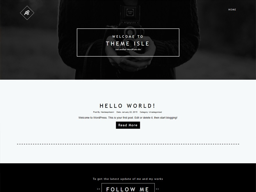 Reebok Freestyle Fan Club Theme 2015 WordPress theme design