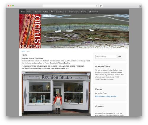 Responsive WordPress template free download - reunionstudio.co.uk