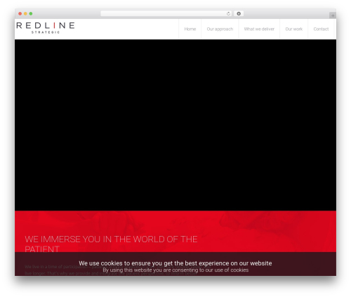 Template WordPress Salamat - redlinestrategic.com
