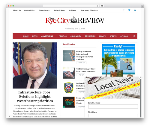 Template WordPress Tribune - ryecityreview.com