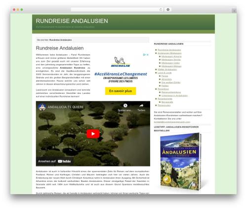 Theme WordPress Billions - rundreiseandalusien.com