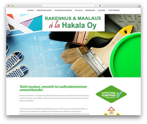 WordPress divi-100-hamburger-menu plugin - rakennusliike-alahakala.fi