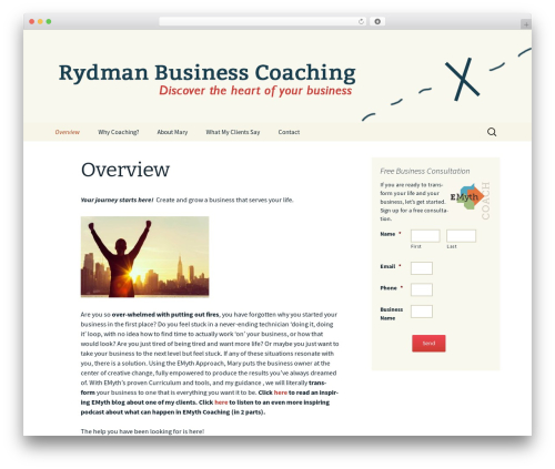 Twenty Thirteen Child WordPress theme - rydmancoaching.com