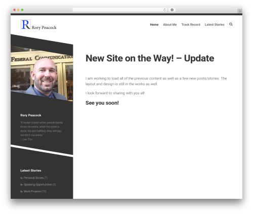 WordPress template Minimer - rorypeacock.com