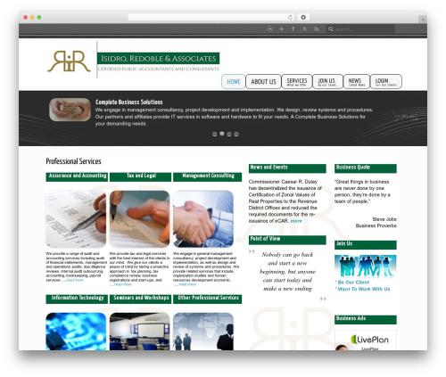 WP template Inspire - risidro.com