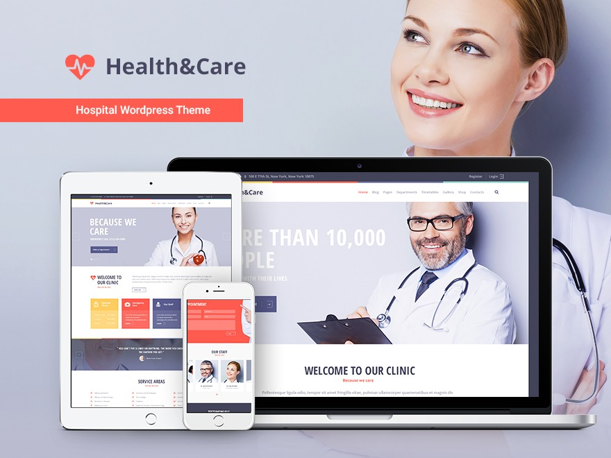 WP theme Healthandcare