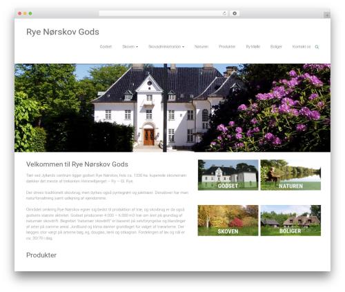 Ample WordPress theme - rye-noerskov.dk