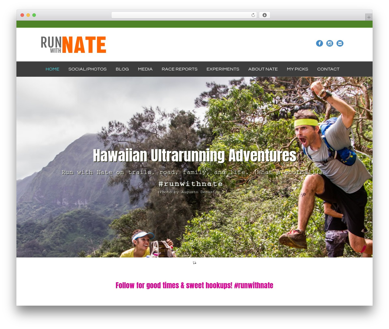Beaver Builder Theme WordPress page template - runwithnate.com