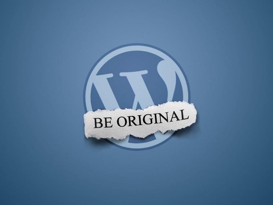 Best WordPress theme Empty Template