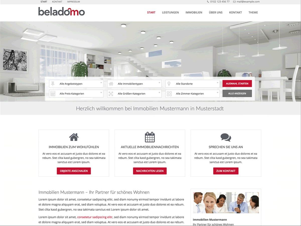 BO-Beladomo WordPress theme