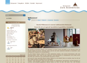 BOHA Gastro GmbH WordPress website template