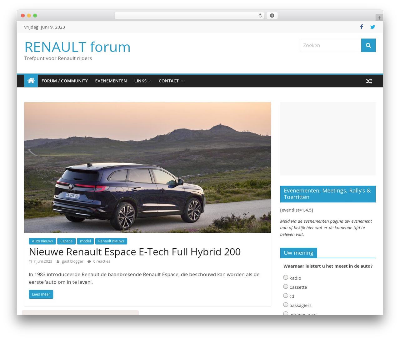 ColorMag best free WordPress theme - renaultforum.nl