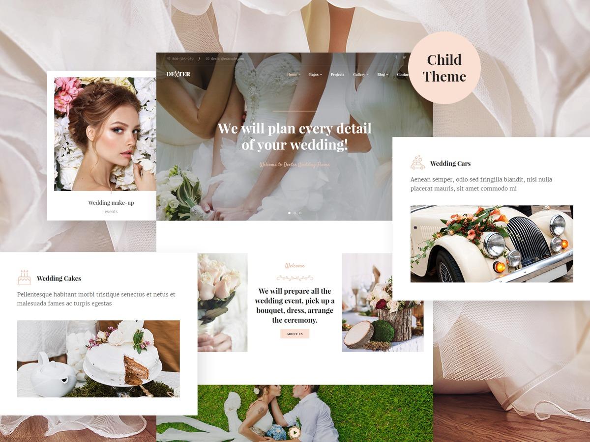 Fantastic Wordpress Wedding Theme Mold - Wedding Dress Inspiration ...