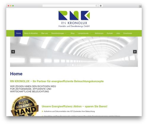 Forefront WordPress theme design - rnkronolux.de