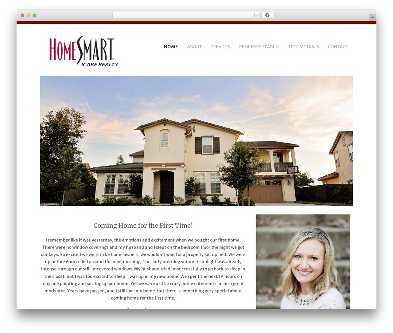 Headway Base best real estate website - realestatewithhelen.com