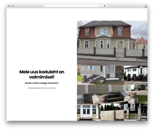 Movedo WordPress theme design - romacom.ee