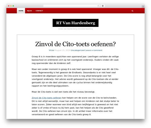NewsBlog WordPress magazine theme - rtvhardenberg.nl