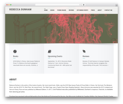 Free WordPress Llorix One Companion plugin - rebeccadunham.com
