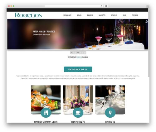 Subway best restaurant WordPress theme - rogelios.es