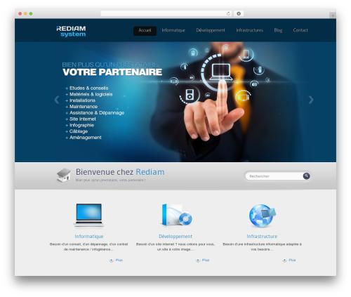 Theme WordPress Envision Child - rediam.fr