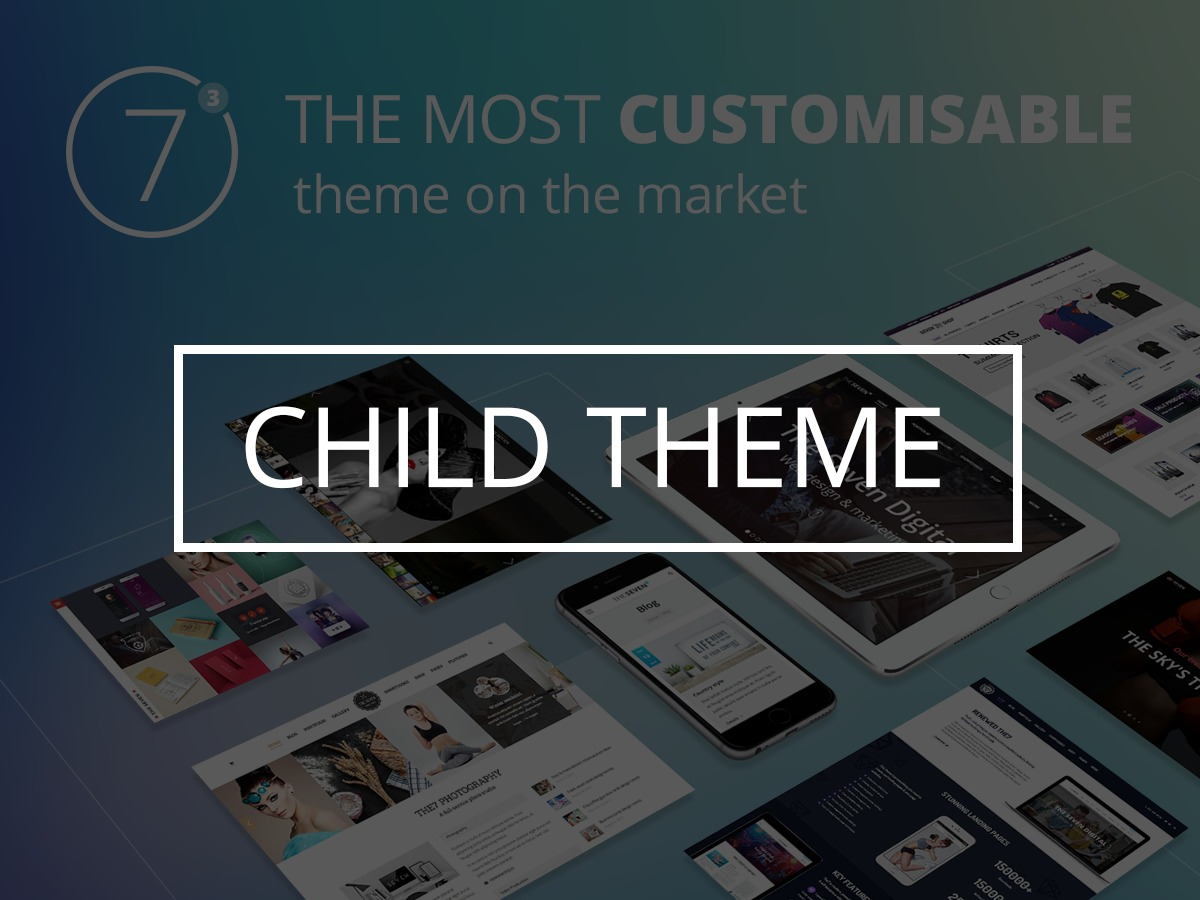 WP template The7-Child