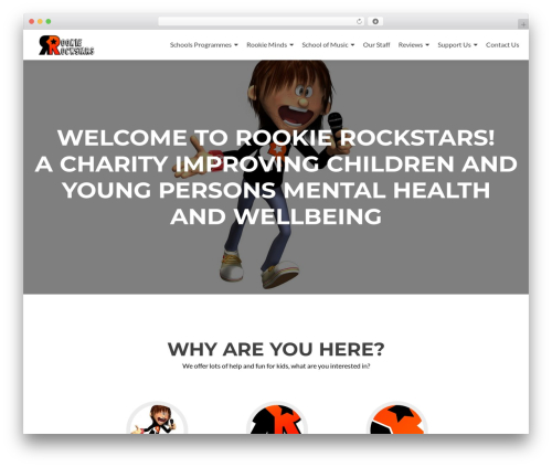 Zerif Lite WordPress free download - rookierockstars.org.uk